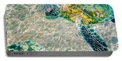 Beautiful Sea Turtle Portable Battery Charger by Jon Neidert