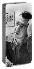 Caryl Chessman Portable Battery Charger by Underwood Archives