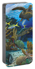Cayman Turtles Re0010 Portable Battery Charger by Carey Chen