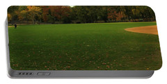 Central Park In Autumn Portable Battery Charger by Dan Sproul