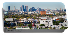 Century City, Beverly Hills, Wilshire Portable Battery Charger by Panoramic Images