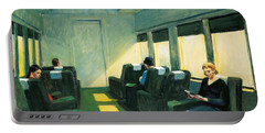 Chair Car Portable Battery Charger by Edward Hopper