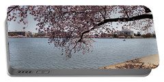 Cherry Blossom Trees With The Jefferson Portable Battery Charger by Panoramic Images