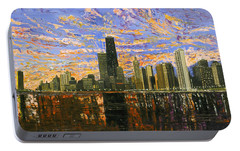 Chicago Portable Battery Charger by Mike Rabe