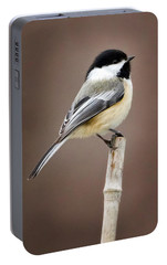 Chickadee Portable Battery Charger by Bill Wakeley