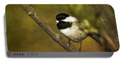 Chickadee Portable Battery Charger by Cindi Ressler
