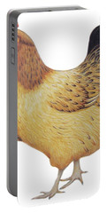 Chicken Portable Battery Charger by Ele Grafton