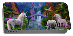 Chinese Unicorns Portable Battery Charger by Jan Patrik Krasny