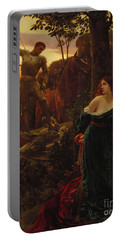 Chivalry Portable Battery Charger by Sir Frank Dicksee