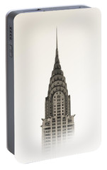 Chrysler Building - Nyc Portable Battery Charger by Nicklas Gustafsson