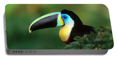 Citron-throated Toucan Portable Battery Charger by Art Wolfe