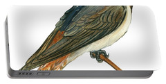 Cliff Swallow  Portable Battery Charger by Anonymous