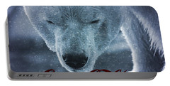 Coca Cola Polar Bear Portable Battery Charger by Dan Sproul