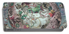 Constellations Of The Southern Hemisphere, From The Celestial Atlas, Or The Harmony Of The Universe Portable Battery Charger by Andreas Cellarius