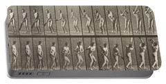 Cricketer Portable Battery Charger by Eadweard Muybridge
