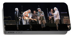 Crosby Stills Nash And Young Portable Battery Charger by Concert Photos