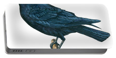 Crow Portable Battery Charger by Anonymous
