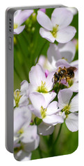 Cuckoo Flowers Portable Battery Charger by Christina Rollo