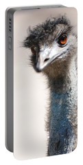 Curious Emu Portable Battery Charger by Carol Groenen