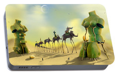 Dali On The Move  Portable Battery Charger by Mike McGlothlen