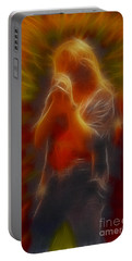 Def Leppard-adrenalize-joe-gb20-fractal Portable Battery Charger by Gary Gingrich Galleries