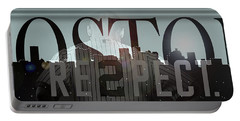Derek Jeter - Boston Portable Battery Charger by Joann Vitali