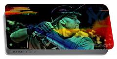 Derek Jeter Portable Battery Charger by Marvin Blaine