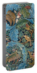Design For Tapestry Portable Battery Charger by William Morris