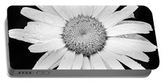 Dew Drop Daisy Portable Battery Charger by Adam Romanowicz