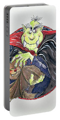 Dracula Portable Battery Charger by Maylee Christie
