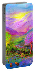 Dream Lake Portable Battery Charger by Jane Small