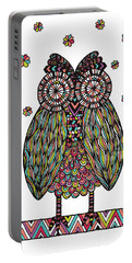 Dream Owl Portable Battery Charger by Susan Claire