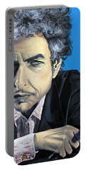 Dylan Portable Battery Charger by Kelly Jade King