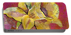 Early Spring I Daffodil Series Portable Battery Charger by Shadia Derbyshire
