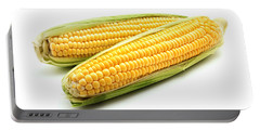 Ears Of Maize Portable Battery Charger by Fabrizio Troiani