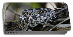 Eastern Diamondback-1 Portable Battery Charger by Rudy Umans