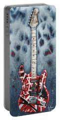 Eddie's Frankenstrat Portable Battery Charger by Arturo Vilmenay