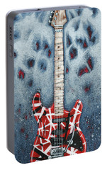 Eddie's Frankenstrat Portable Battery Charger by Arturo Vilmenay