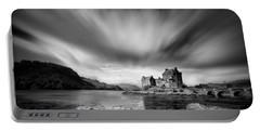 Eilean Donan Castle 1 Portable Battery Charger by Dave Bowman