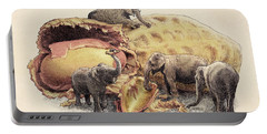 Elephant's Paradise Portable Battery Charger by Eric Fan