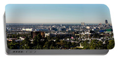 Elevated View Of City, Los Angeles Portable Battery Charger by Panoramic Images