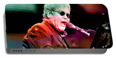 Elton John Portable Battery Charger by Marvin Blaine