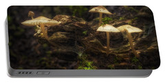 Enchanted Forest Portable Battery Charger by Scott Norris