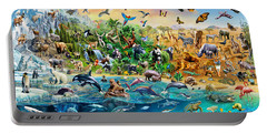 Endangered Species Portable Battery Charger by Adrian Chesterman