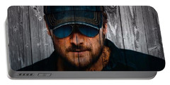 Eric Church Portable Battery Charger by Dan Sproul