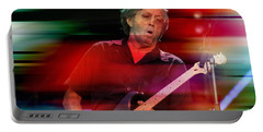 Eric Clapton Portable Battery Charger by Marvin Blaine