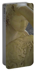 Eternal Love - Psyche Revived By Cupid's Kiss - Louvre - Paris Portable Battery Charger by Marianna Mills