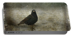 European Starling Portable Battery Charger by Cindi Ressler