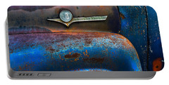 F-100 Ford Portable Battery Charger by Debra and Dave Vanderlaan