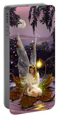 Fairy Princess Portable Battery Charger by Garry Walton
